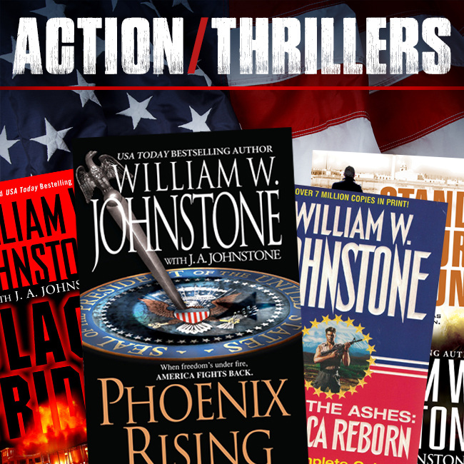 Action/Thriller Books